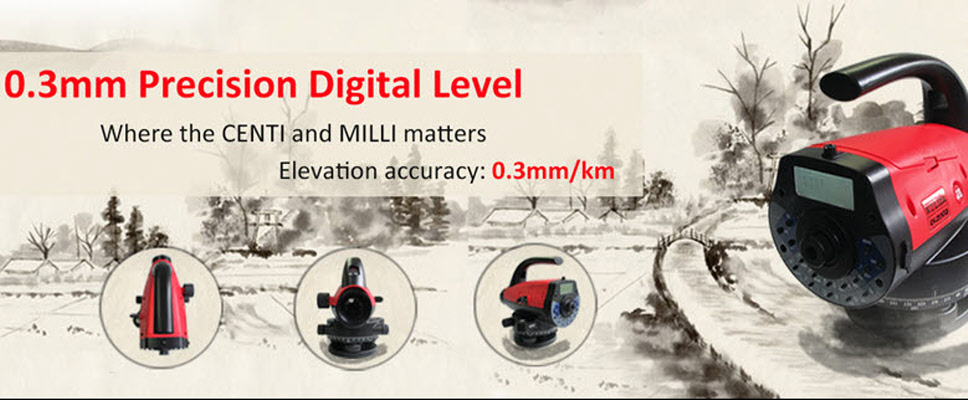 Optical, Automatic and Digital Level
